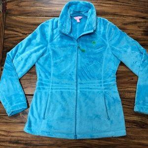 Fuzzy Zip Fleece Jacket